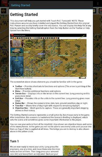 Panzer Campaigns - Tunisia 43 - screenshot