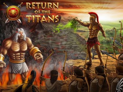 Return of the Titans: TD - screenshot