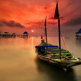 another boats by Ahmad Sahroni - Transportation Boats ( indonesian, kenjeran, boats, east java, surabaya, water, device, transportation )