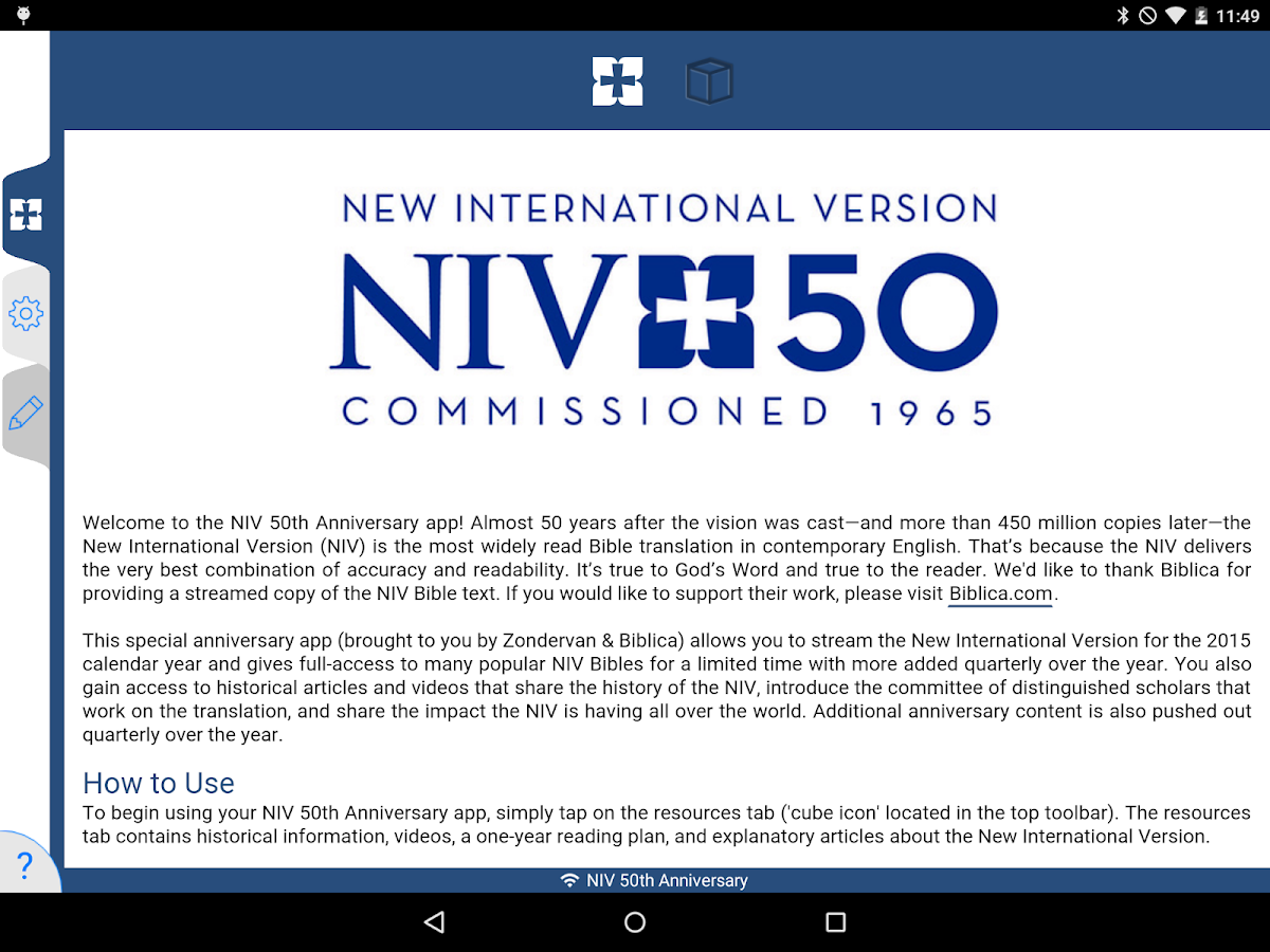 NIV 50th Anniversary Bible Screenshot 8