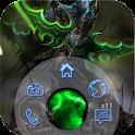 Magic World - Locker theme
