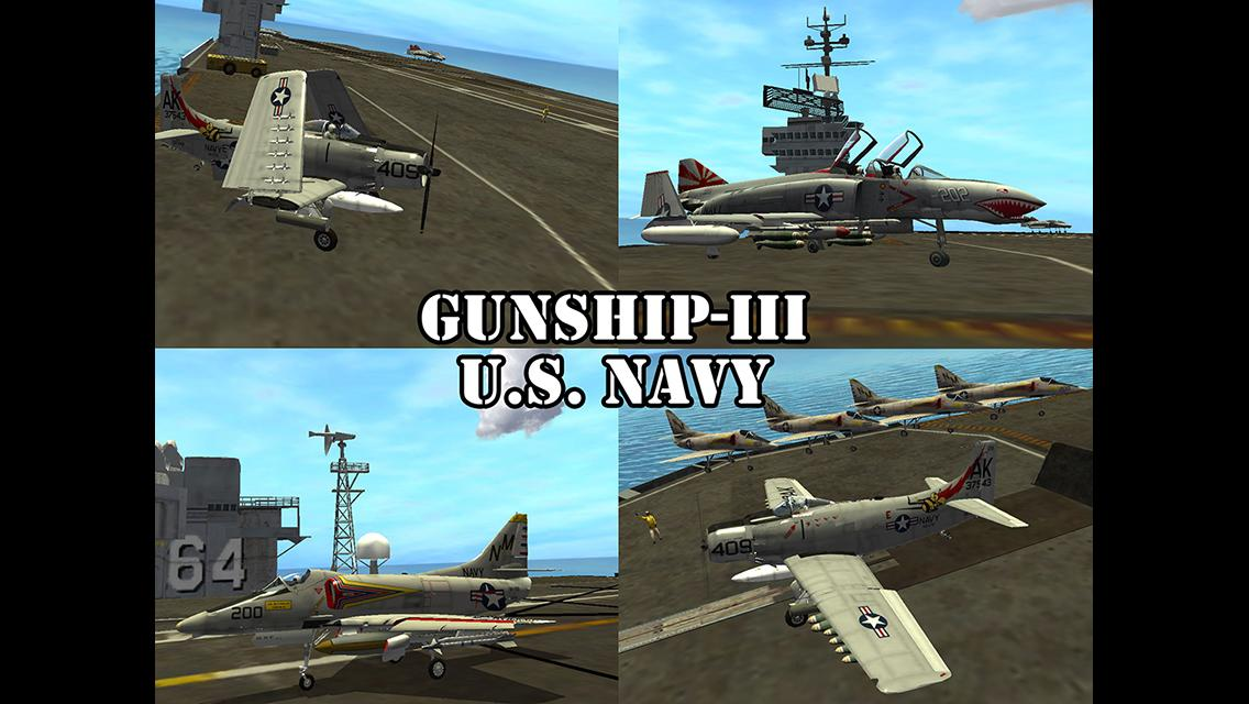 Gunship III - U.S. NAVY Screenshot