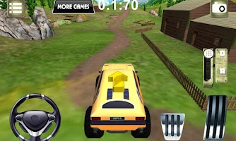 Screenshot of Extreme Off Road parking 3D