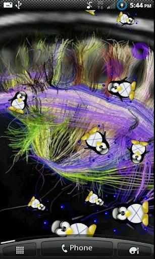 Crazy Penguins Live Wallpaper