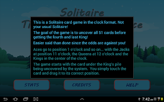 Screenshot of Solitaire Time