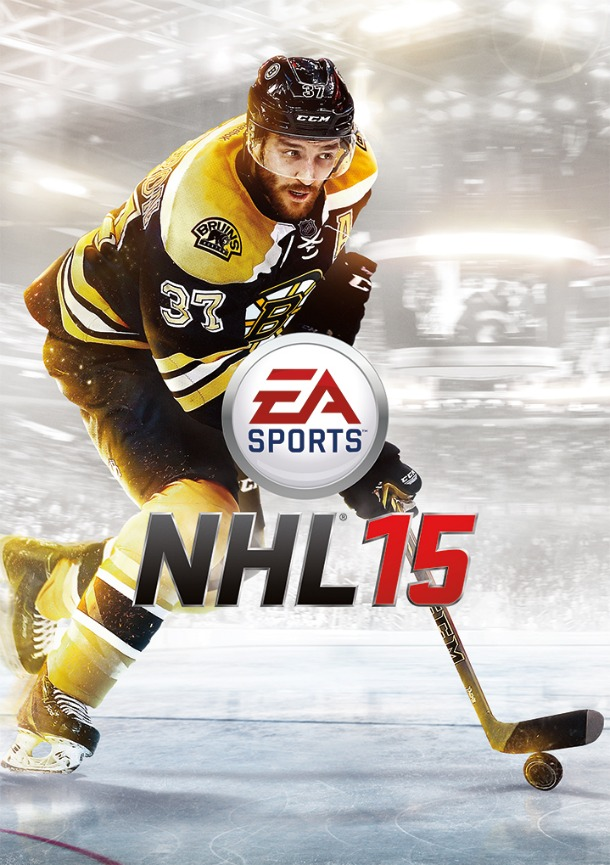 Boston Bruins star Patrice Bergeron voted cover star for NHL 15
