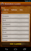 Screenshot of Spellbook Companion