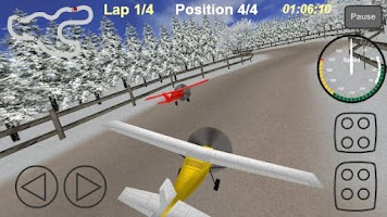 Screenshot of Plane Race