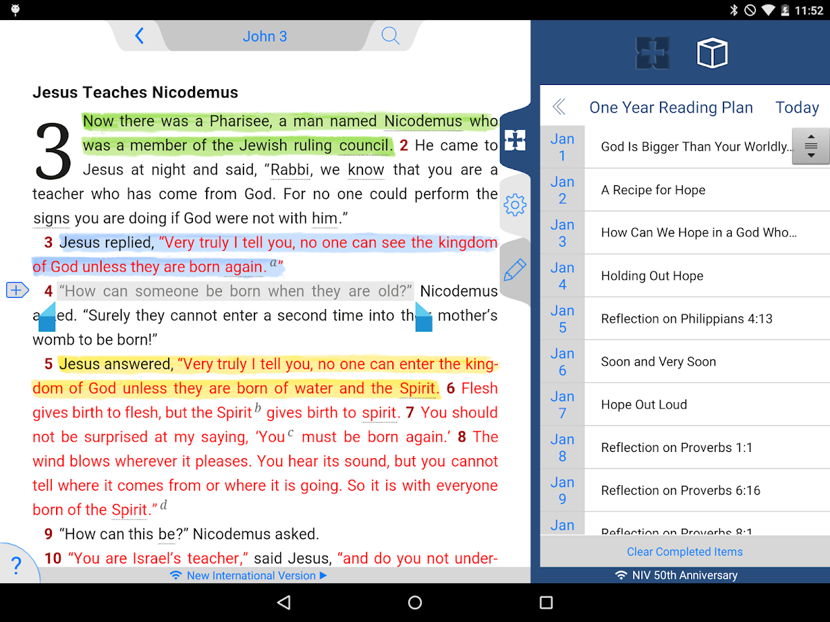 NIV 50th Anniversary Bible Screenshot 11
