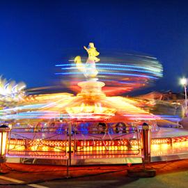 Around and around by Antonio Amen - City,  Street & Park  Amusement Parks