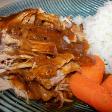 Couldn't Be Easier BBQ Pork Tenderloin (Crock Pot)