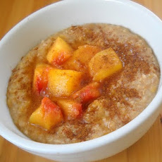 Coconut Peach Porridge