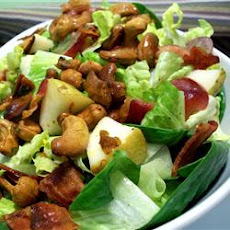 Curried Cashew, Pear, and Grape Salad