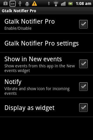 【免費通訊App】Gtalk Notifier Pro-APP點子