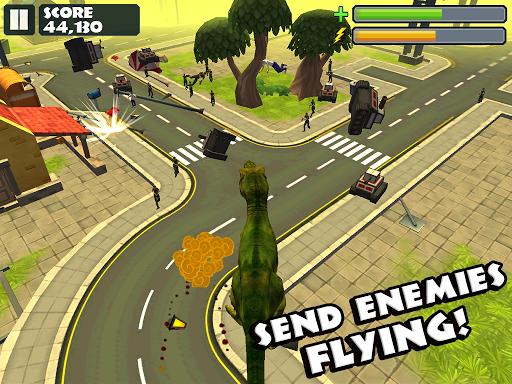 Jurassic Rampage: Smash City - screenshot