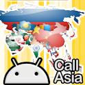 chiamata Asia icon