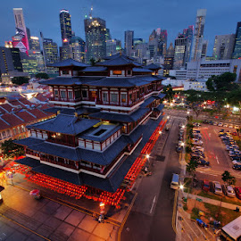 by Ken Goh - City,  Street & Park  Vistas