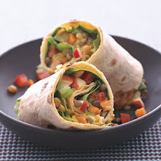 Lentil, Apple, and Turkey Wrap