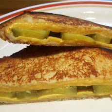 Aim's Favorite Pickle Cheese Melt