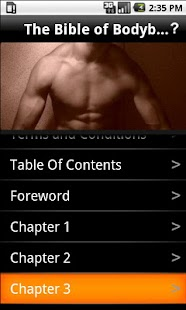 The Bible of Bodybuilding - screenshot