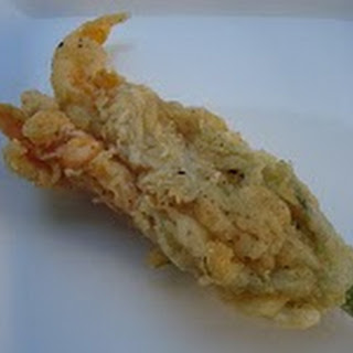 Fried Stuffed Zucchini Blossoms