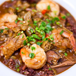 Shrimp and Duck Gumbo
