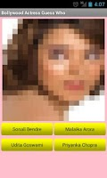 Screenshot of Bollywood Actress Guess Who