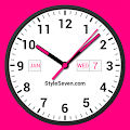 App Analog Clock Widget Plus-7 APK for Kindle