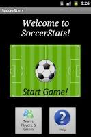 Screenshot of Soccer Stats for Parents