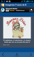 Screenshot of Imagenes Frases de Buenos Dias