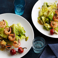 Shrimp Caesar Salad