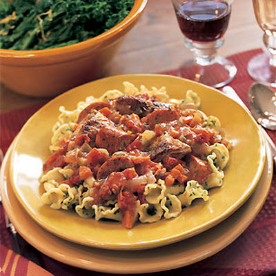 Chicken and Andouille Sausage Ragù