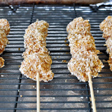 Crispy Chicken Skewers