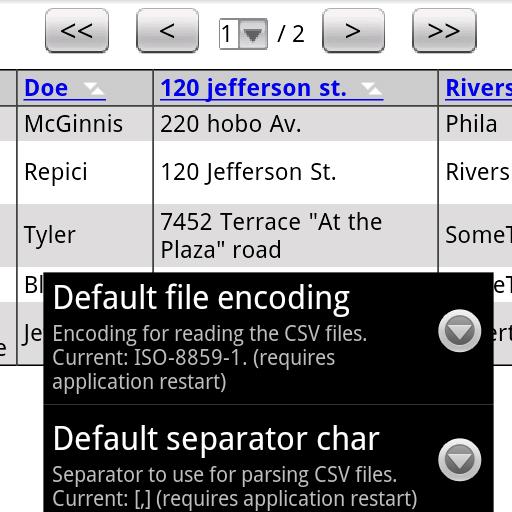 CSV格式查看器專業版 商業 App LOGO-APP試玩