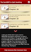 Screenshot of Quit Smoking Course