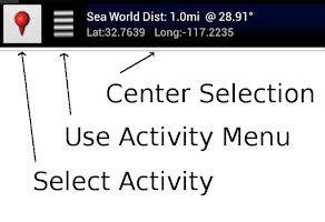 Screenshot of GPS Map