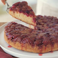 Easy Cranberry Upside-Down Cake