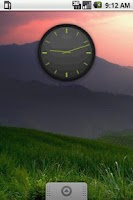 Screenshot of Elegance Clock widget 2x2