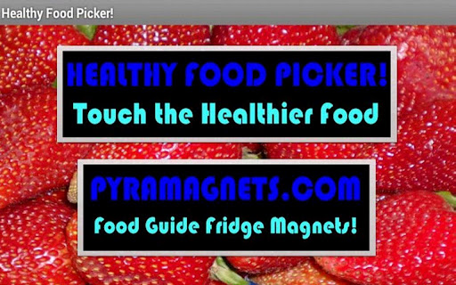 Healthy Food Picker Game