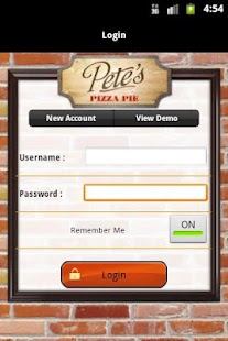 Pete's Pizza Online Ordering - screenshot