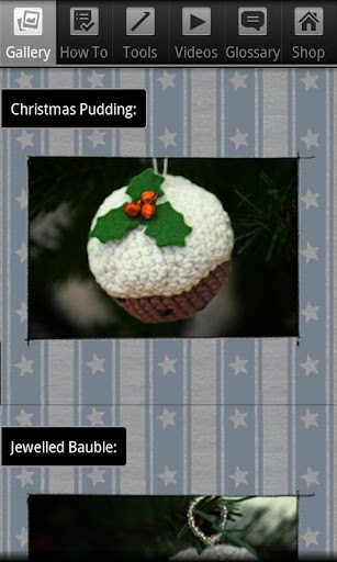 Crochet Christmas Pudding