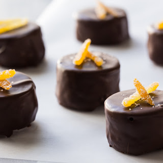 Chocolate-Orange Brownie Bites