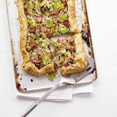 Leek, Cheese & Bacon Tart