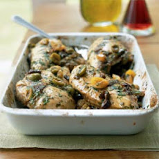 Chicken with Fruit and Olives