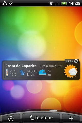 Beach Weather Widget