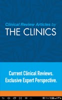 Screenshot of Clinics Review Articles