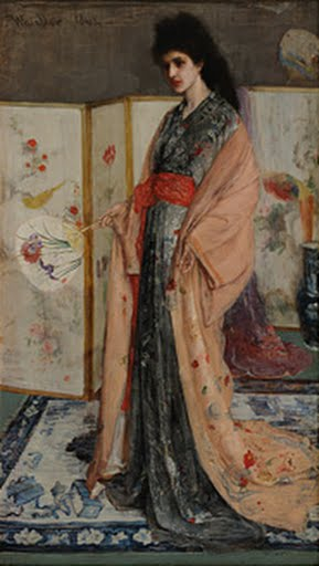 The Princess from the Land of Porcelain, James McNeill Whistler