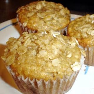 Banana Walnut Oat Muffins Recipes