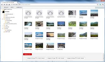 Screenshot of WiFi File Manager