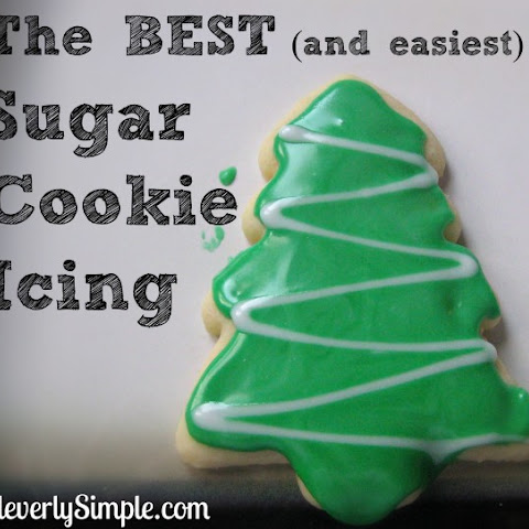 How to Make The Best (and Easiest) Sugar Cookie Icing (Glaze)